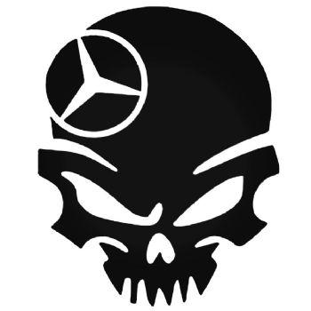 Skull Mercedes Car Stickers Motorbike Vinyl Decals Fairings Panniers